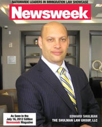 Top Rated Immigration Attorney in Elmwood Park, NJ : Edward Shulman