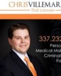 Top Rated Personal Injury Attorney in Lafayette, LA : Chris Villemarette
