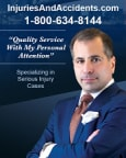 Top Rated Trucking Accidents Attorney in New York, NY : Leandros A. Vrionedes