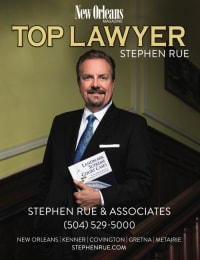 Top Rated Criminal Defense Attorney in Kenner, LA : Stephen R. Rue