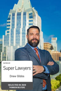 Top Rated Personal Injury Attorney in Austin, TX : Drew Gibbs