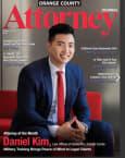 Top Rated Trucking Accidents Attorney in Costa Mesa, CA : Daniel Kim