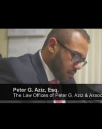 Top Rated Family Law Attorney in Clifton, NJ : Peter G. Aziz
