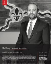 Top Rated Criminal Defense Attorney in Brentwood, MO : Joseph M. Harvath