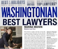 Top Rated White Collar Crimes Attorney in Alexandria, VA : Marina Medvin