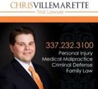 Top Rated Medical Malpractice Attorney in Lafayette, LA : Chris Villemarette