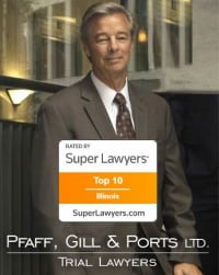 Top Rated Products Liability Attorney in Chicago, IL : Bruce R. Pfaff