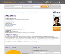 Premium Online Attorney Profile