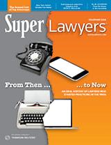 Colorado Super Lawyers Magazine cover