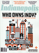 Indianapolis Monthly magazine cover