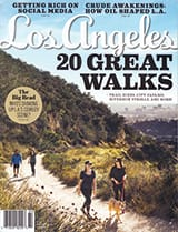Los Angeles magazine cover