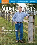 Missouri & Kansas Super Lawyers Magazine cover
