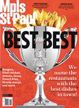 Mpls.St.Paul Magazine cover