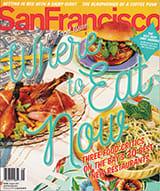 San Francisco Magazine cover