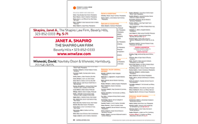 Impact Listing in Super Lawyers Magazine