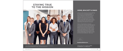 Platinum Profile page in Super Lawyers Magazine