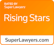 Orange Rising Stars Badge