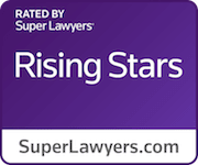 Purple Rising Stars Badge