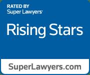 Blue Rising Stars Badge
