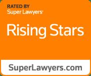 Orange Rising Stars Badge