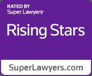 Purple Rising Stars Badge
