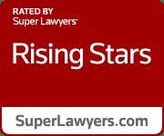 Red Rising Stars Badge