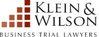 Klein & Wilson law firm logo