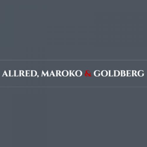 Allred, Maroko & Goldberg law firm logo