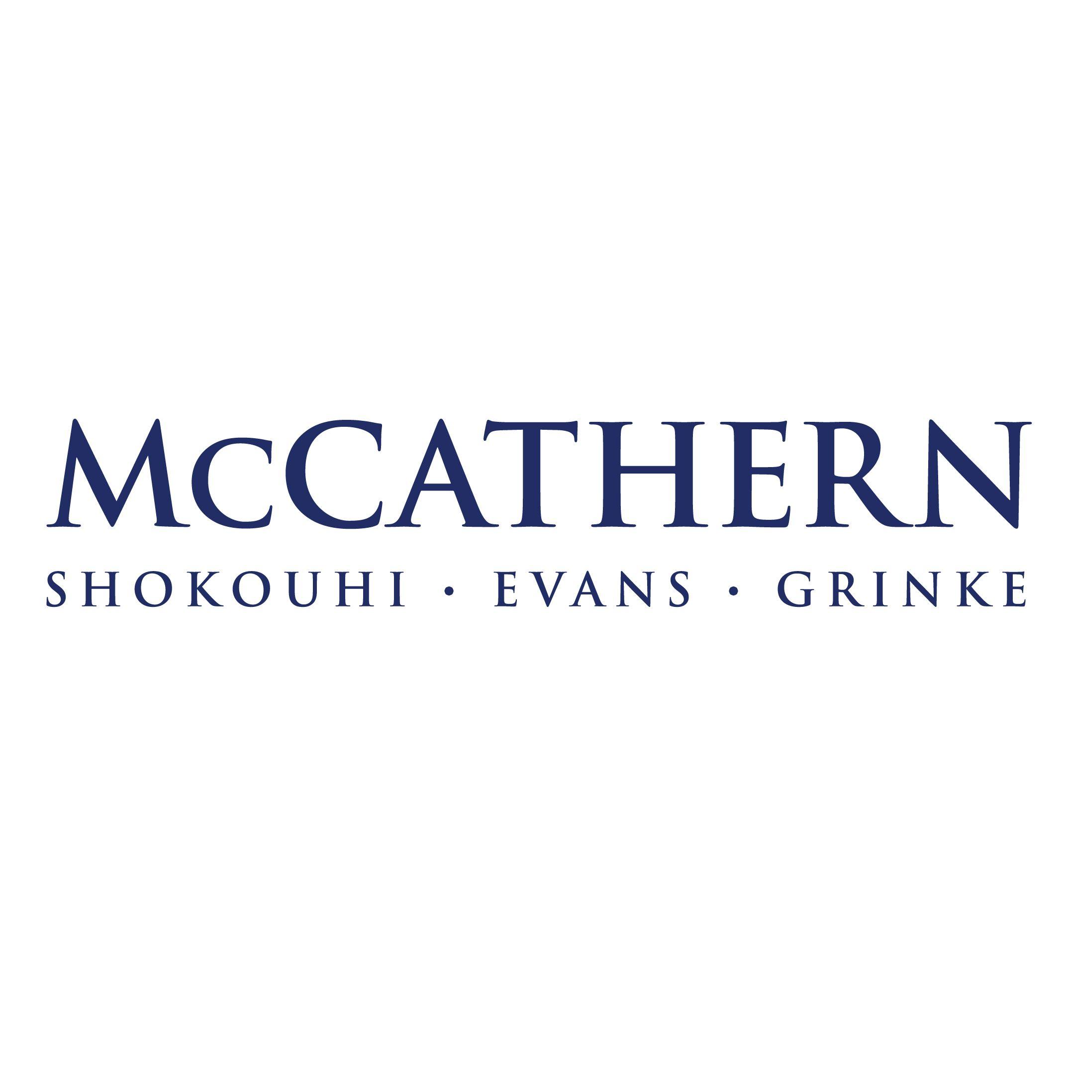 McCathern, Shokouhi, Evans, Grinke, PLLC law firm logo