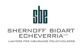 Shernoff Bidart Echeverria LLP law firm logo