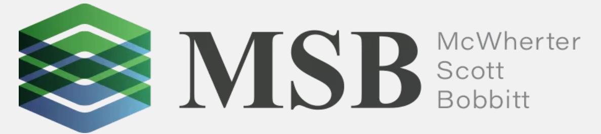 McWherter Scott Bobbitt PLC law firm logo
