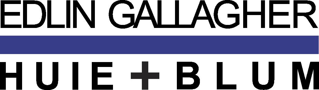 Edlin Gallagher Huie + Blum law firm logo