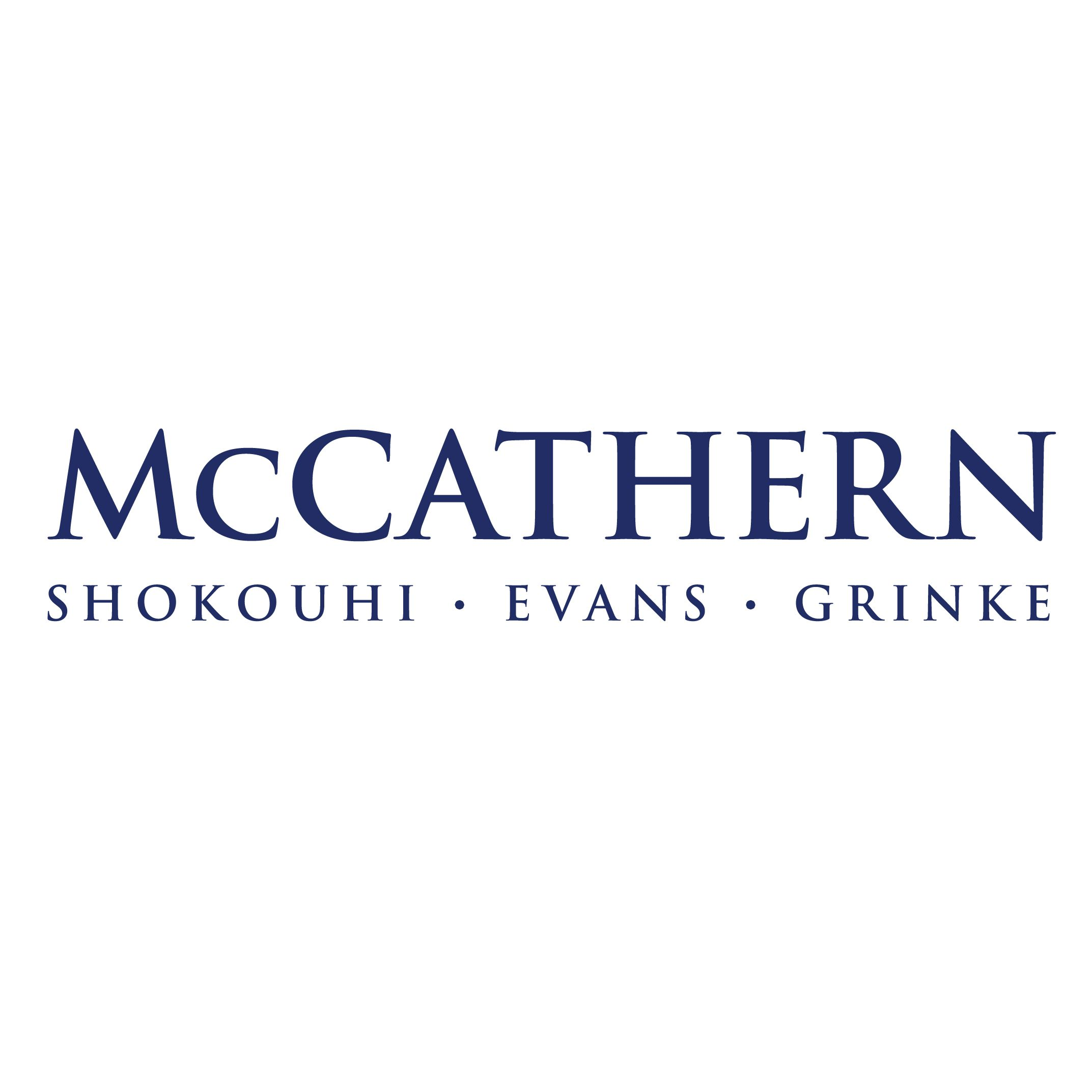 McCathern, Shokouhi, Evans, Grinke law firm logo