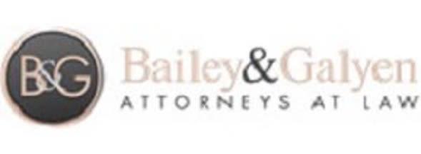 Bailey & Galyen Attorneys at Law law firm logo